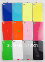 Free Shipping Gilding Plastic Hard Case for iPhone 4 4S
