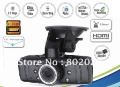 Free Ship!! 2012 NEW 1.5inch 120 degree  G-sensor resolution Full HD 1080P Car Dvr camera HDMI vehicle Video Recorder