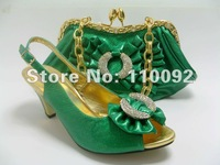 2012fashion style comfortable durable ladies shoes and  matching bags--601 series