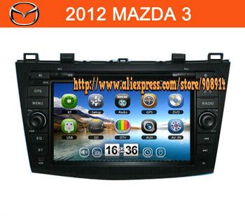 car dvd 2 din mazda 3 with gps car radio tv ipod mp4 bt