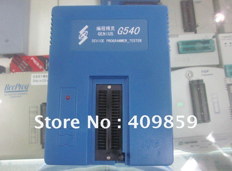 USB universal programmer GENIUS G540+ 2 adapters PLCC44 and PLCC32(China (Mainland))