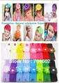 Free Shipping 2 Inch Fashion Baby Daisy Flower Hair Accessories with Headband and Hair Flower 20pcs/lot H007