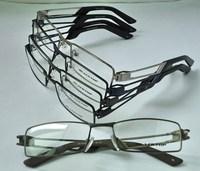 full frame stainless steel nerd clear glasses /Optical Frames/eyeglasses optical men 12PCS/Lot Wholesale oculos glasses free