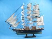real wood handcrafts  wooden sailing ship Best price DHFA-0W