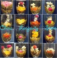 12 Kinds Handmade Blooming Flower tea Flowering Green Artistic Tea Ball - HOT ITEM Freeshipping