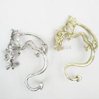 Chinese style fashion Dragon (Bronze\Silver) punk ear clip Studs ear cuffs earrings jewelry fashion jackets women men