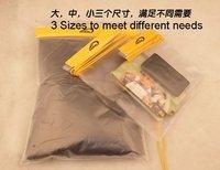 100% Brand New! 3 pcs/set  Waterproof bags set, PVC waterproof bags set, PVC waterproof pouch,Free Shipping
