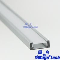 Furniture lighting housing,counter LED light Aluminium housing show window strip bar housing LED linear light cover profile case