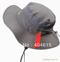 wholesale adult summer outdoor military wide brim boonie hat women and men polyester dry quicky uv protection beach fishman cap