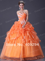 2013 Stock New Style Ivory/white Long Organza Beaded Sleeveless Ball Gown Bridal Gown Wedding Dresses Free Shipping CL2518