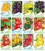30 KINDS 6000+ TOMATO SEEDS Cherokee Purple Black Red Yellow Green Cherry Peach Pear Tomato Non-GMO Organic Food(China (Mainland))