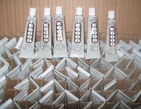EMS freeshipping!! 3ml E6000 Nail Glue Gift Glue phone decoration glue Paste the plastic