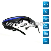 "50"" Virtual Video Glasses Eyewear 4GB Mobile Theatre Glasses Portable Cinema"