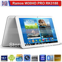 Ramos W30HD PRO 10.1 inch Retina Screen 1920*1200 Pixels Tablet PC RK3188 Quad Core 1.8GHz 2GB RAM 32GB ROM WIFI HDMI Bluetooth