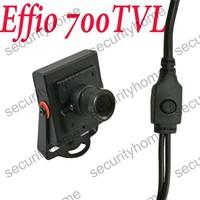 Mini 2.5mm Wide Angle Sony Effio-E 700TVL OSD Security CCTV camera System