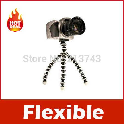 Gorillapod Type Flexible Leg Mini Tripod for Digital Camera (S)(China (Mainland))