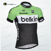 Pro cycling jersey  for men with 100% Polyester quite dry  and comfortable in summer