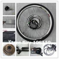 LED METER ,DISC BRACK, 36v 500w electric bike conversion kits with rear wheel