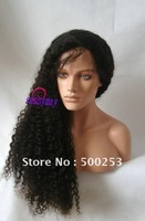 150% Thick Density Sunnymay Kinky Curl Brazilian Virgin Silk Top Stock Hair Lace Wigs