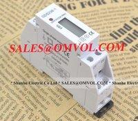 LCD 5(32A) 230VAC 50Hz DIN-Rail Kilo Watt Hour kwh Single Phase Energy Meter DDS238-1