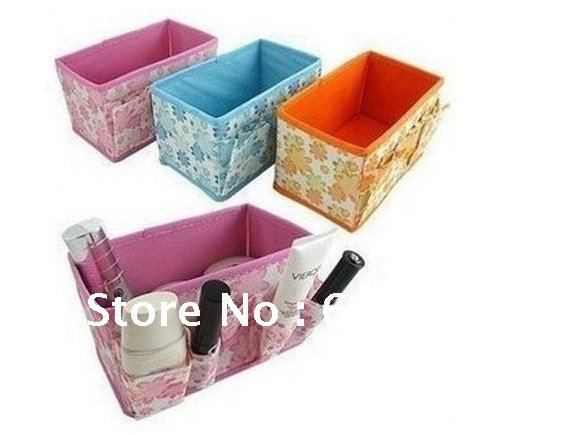 Home Furnishing Supplies Cosmetics Box Jewelry Box Small Private Storage Bag Free Shipping(China (Mainland))