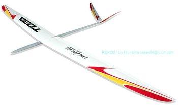 Top class Toba F3B fiberglass rc glider