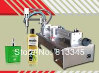 90-1000ml single nozzle pneumatic piston semi auto tube liquid filling machine for Perfume,juice,wine,mineral water,cosmetic etc