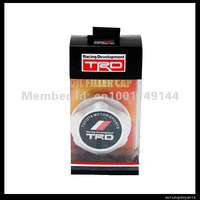 Free shipping TRD oil filter cap for toyota  silver one four color choice  10 piece/lot