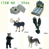 3D puzzle North American Animals 2966 ( 4 assorted )