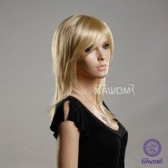 white people wig;Tilted frisette wig;the lasted fashion wig, free shipping,BLONDE