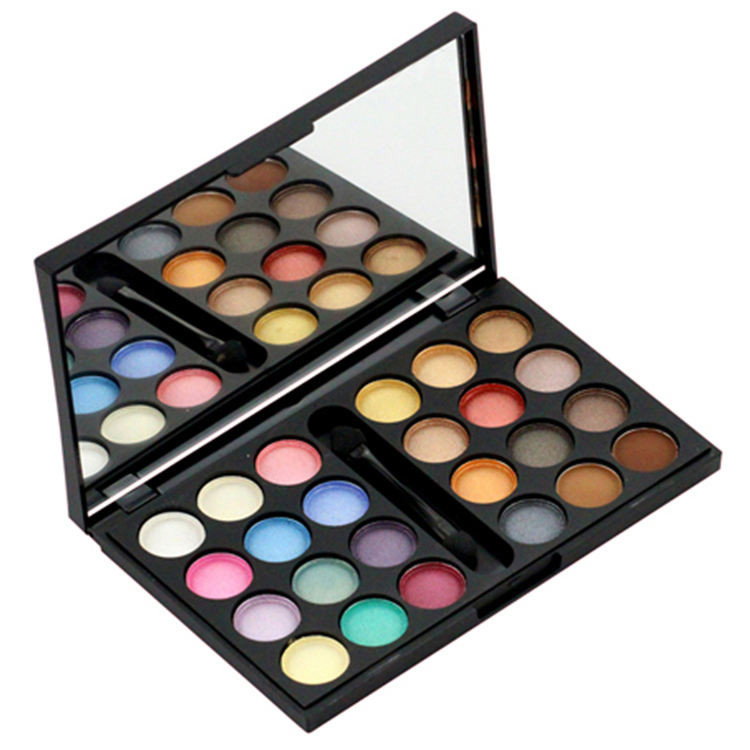 24 Colors Matte Eye Shadow Palette Eyeshadow Brand Makeup CD Free Shipping [Beauty Discovery](China (Mainland))