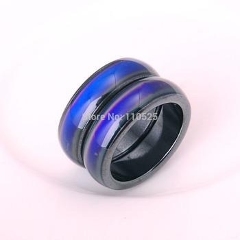 Magnetic hematite mood ring,Hot Sale*60pcs/set