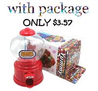 6pcs Korean Mini candy machine / Piggy bank Mini twist sugar cute children Christmas gift With Box Pacage