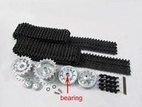 Mato Metal upgraded Tracks, sprockets, idler wheels parts set for Heng Long 3818-1 1/16 1:16 RC Tiger I tank part