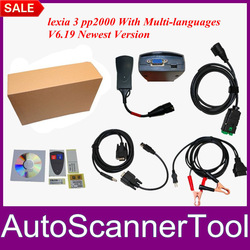 2013 Citroen Peugeot Diagnostic Scanner PP2000 Lexia 3 Interface+Diagbox Software V6.19 For Multi-Languages With Lowest Price(China (Mainland))