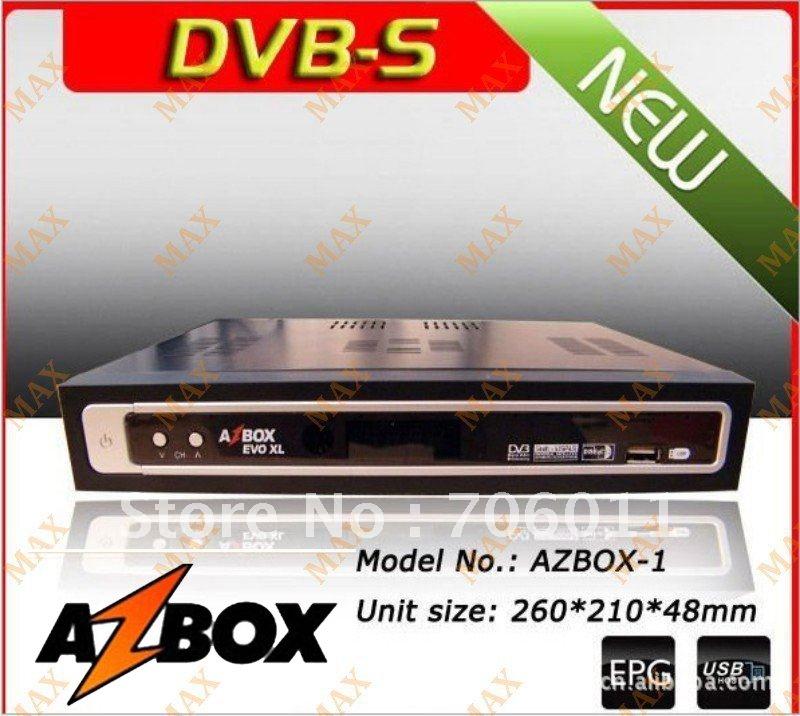 /lot envío gratis- tv digital por satélite receptor azbox evo xl