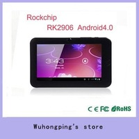 Free shipping New arrival 7 inch tablet pc RK2906 support Flash Player 10.1 touch screen mini pc android 2.3