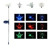 LED garden lights, solar butterfly lights
