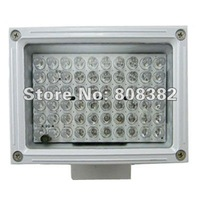 New 50 meters outdoor Waterproof CCTV Security 60 IR Leds 850nm Wavelength Leds light illuminator 30 Degree Angle 12 Volt