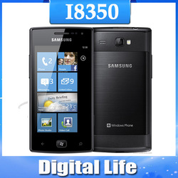 I8350 Original Samsung Omnia W I8350 GPS WIFI 3.7 TouchScreen 5MP Internal 8 GB storage Unlocked Cell Phone(China (Mainland))