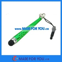 Mini Stylus Capacitive Pen For Ipad/Iphone 3.5mm Earphone Plug(STP-I006) 2000pcs/lot Free Shipping