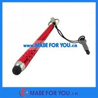 New Cheap Stylus Capacitive Pen For Ipad/Iphone 3.5mm Earphone Plug(STP-I006) 10000pcs/lot Free Shipping