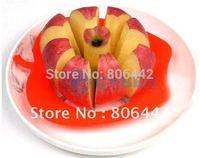 10Pcs/Lot Hot Selling Corer Slicer Easy Cutter Cut Fruit Knife for Apple Pear Free Shipping