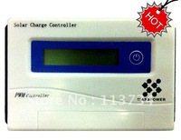 MOQ 5PCS  PV Solar Panel Energy Home System12v 24v PWM Control 40A LCD Battery Charge Charger Controller Regulator