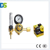 DS BS-YQAR84Superior Brass Precessing Machined Reliable Good Leakproofness BS473584 Argon  Regulator  Made In China