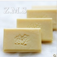 Natural Soap/Facial cleaner/100% pure/whitening/moisturizing/Fresh carrot and orange soap/handmade soap