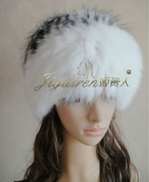 Free shipping!Fox Knit hat/Ladies fur hat/thickened fox fur hat