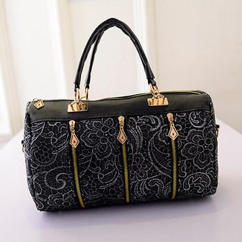 Cheap Products    Women Lace Bag Sexy Shoulder Purse Handbag Tote Bags Boston   wholesale  dropship S322