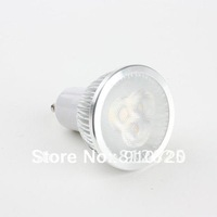 2PCs SD86 GU10 3W 6W 9W  3LED LED Bulb Light 85-265V Ultra Bright Energy Saving Bulb White/Warm White+Free Ship