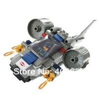 Strike aircraft  M38-B0196 Assault vehicle 3D lego type Building Block Set, Enlighten Brick Toy, Christmas Gift